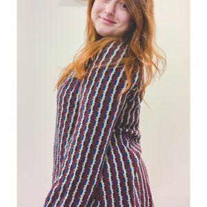 Vtg 70's Flowy Sweater